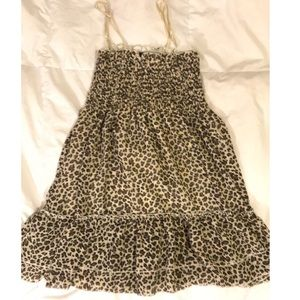 Leopard babydoll Sumer dress